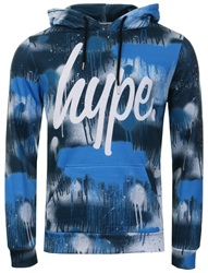 Hype Blue Streets Pullover Hoodie