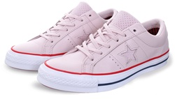 Converse Barely Rose/Gym Red/White One Star New Heritage