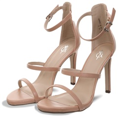 4th & Reckless Nude Harper Strappy Sandal