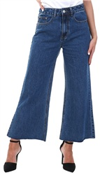 Momokrom Denim Wide Leg Jean