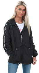 Hilfiger Denim Tommy Black Essential Windbreaker