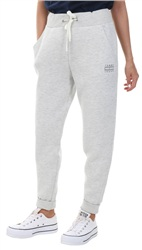 Hilfiger Denim Light Grey Clean Tapered Cotton Blend Sweatpant