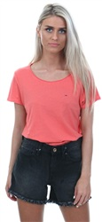 Hilfiger Denim Spiced Coral Soft Jersey Tee