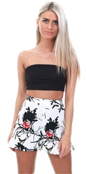 Missi Lond Black Bandeau Top