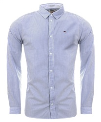 Hilfiger Denim Classic White Cotton Regular Fit Shirt