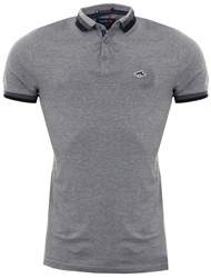 Le Shark Light Grey Marl Polo Shirt