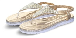 Krush Gold Sandal