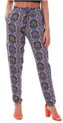 Only Blue Depths Nova Mandala Print Trouser