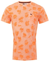 Superdry Sun Scorched Orange Whistler All Over Print Lite T-Shirt