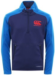Canterbury Patriot Blue Thermoreg Fleece Top