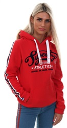 Superdry True Red Collegiate Trad Entry Hoodie