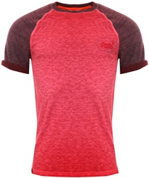 Superdry Classic Red Low Baseball Roller T-Shirt