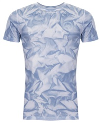 Hype Blue/White Tie Dye T-Shirt