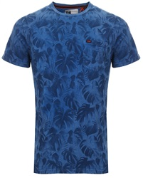 Superdry Hyper Cobalt Whistler All Over Print Lite T-Shirt