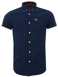 Superdry Micro Stars Homestead Loom Short Sleeve Shirt