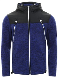 Superdry Cobalt/Black Storm Mountain Zip Hoodie
