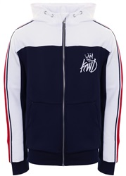Kings Will Dream Navy White Red Mertape Zip Hoodie b919873f2c