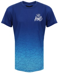 Kings Will Dream Cobalt/Aqua Galena Fade T-Shirt