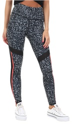 Superdry White Noise Sport Mesh Panel Legging