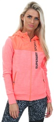 Superdry Hot Coral Sport Hybrid Jacket