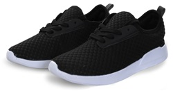 Dv8 Black Lace Up Trainer
