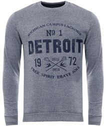 Brave Soul Grey Marl Kenway Sweater