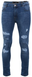 Crosshatch Light Wash Sunnyvale Ripped Skinny Jean