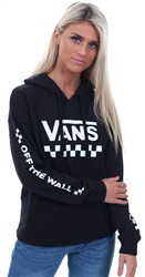 Vans Black/ White Too Much Fun Hoodie
