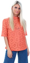 Fashion Union Coral Samatha Core Lace Top