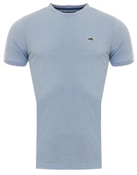 Le Shark Light Blue Birdseye Kiffen Short Sleeve Tee