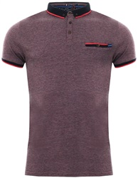 Le Shark Bright Salmon Windsor Jacquard Jersey Polo Shirt