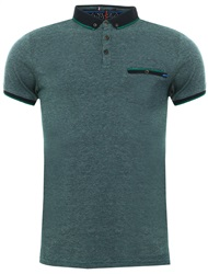 Le Shark Jungle Green Windsor Jacquard Jersey Polo Shirt