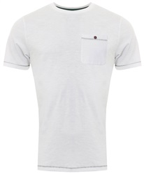 Sth Shore White Short Sleeve Coco Pocket Tee