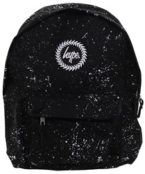 Hype Black/White Speckle Back Pack