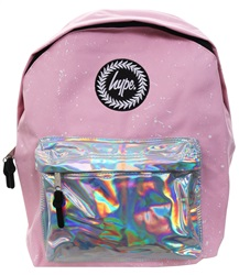 Hype Splatter Pink Back Pack