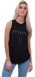 Superdry Black Studio Tank