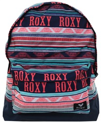 Roxy Navy Sugar Baby Medium Backpack