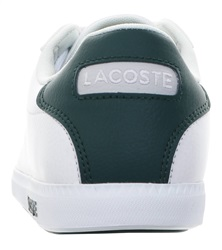 Lacoste White Graduate Leather Trainers