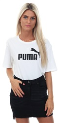 Puma Bright White Essentials Boyfriend Tee