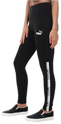 Puma Cotton Black Tape Fitted Leggings