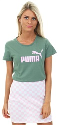 Puma Laurel Wreath Printed Short Sleeve Tap Tee
