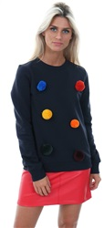 Noisy May Night Sky Mara Night Sky Sweater