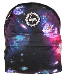 Hype Black Space Planet Back Pack
