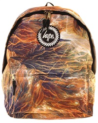 Hype Multi Brown Mountain Trails Back Pack