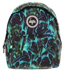 Hype Green Marble Run Back Pack