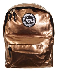 Hype Bronze Holographic Back Pack