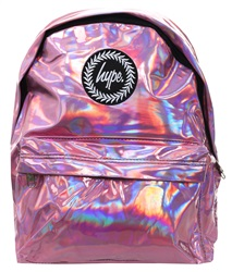 Hype Holographic Pink Backpack