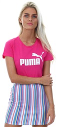 Puma Beetroot Purple Essentials Women's Tee