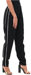 Style London Black Side Stripe Jogger