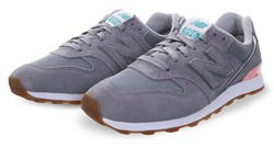 New Balance Grey 996 Running Trainer